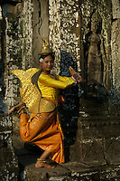 Apsara Dance in the Ruins of the Ankor Wat Area