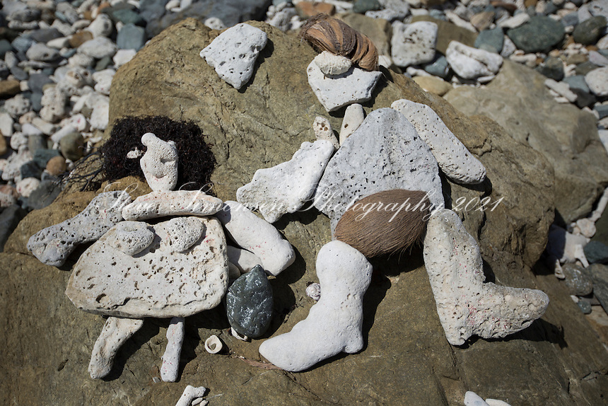 Rock sculptures found at Drunk Bay<br />
