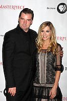 "LOS ANGELES - JUL 21:  Brendan Coyle, Joanne Froggatt at a photocall for ""Downton Abby"" at Beverly Hilton Hotel on July 21, 2012 in Beverly Hills, CA"