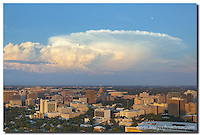 On a Saturday night, storm clouds began to form over Austin and the Texas State Capitol. Behind me was ACL in full force. To the northeast, these clouds would soon bring up to 5 inches of rain to areas around central Texas. This image was taken from the Penthouse balcony of the Springs Condominiums. Thanks to the nice folks there for allowing me access to capture such fun Austin images.