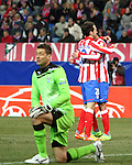 EUROPA LEAGUE. Atletico de Madrid vs Lazio 23/2/2012