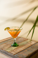 Desert Fire spicy margarita at Salt and Lime Cabo Grill in Raleigh, N.C. on Friday, July 18, 2014. (Justin Cook)