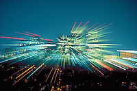 Abstract, Colorful, Lights, Night, Zoom, zooming, Basic elements, man made, natural, images,