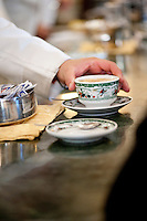 Caffe Gambrinus in Naples, offering 'caffè sospeso' or suspended coffee