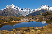 Key Summit, Fiordland, Routeburn, New Zealand