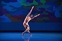 San Francisco Ballet presents Program C, a mixed bill of four pieces, at Sadler's Wells. This piece is:  Beaux, by Mark Morris. Dancers in this piece are: Pierre-Francois Vilanoba, Pascal Molat, Francisco Mungamba, Vito Mazzeo, Lonnie Weeks, Gennadi Nedvigin, Joan Boada, Garen Scribner, Dustin Shane Spero.