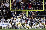 07FTB Las Vegas Bowl.BYU vs UCLA..BYU- 17.UCLA- 16..Blocked Kick. 55 Eathyn Manumaleuna. 92 Brett Denney...December 22, 2007..Photography by  Mark A. Philbrick..Copyright BYU Photo 2007.All Rights Reserved.photo@byu.edu   (801)422-7322