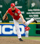 21 May 2006: Mike Stanton, pitcher for the Washington Nationals, on the mound against the Baltimore Orioles at RFK Stadium in Washington, DC. The Nationals defeated the Orioles 3-1 to take 2 of 3 games in their first inter-league series...Mandatory Photo Credit: Ed Wolfstein Photo..