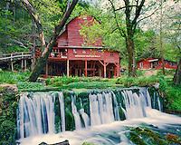 Hodgson Mill, Old Mill & Spring, Missouri   Missouri Ozarks