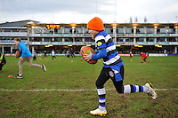 General action from the rugby at half-time. European Rugby Champions Cup match, between Bath Rugby and RC Toulon on January 23, 2016 at the Recreation Ground in Bath, England. Photo by: Patrick Khachfe / Onside Images