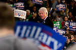 Lakewood, Ohio, USA, 20080301:   Former President Bill Clinton campaigns in Lakewood for his wife Hillary Rodham Clinton, who is running against Obama as the Presidential Candidate for 2009...Photo: Orjan F. Ellingvag/ Dagens Naringsliv/ Corbis