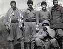Iraq 1974  In Choman, Iranian soldiers dressed up as Kurds during the armed struggle  <br />