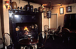 The Village Pub. Interior of  St Kew Inn, Saint Kew, Cornwall. England