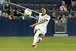 15 October 2014: Christen Press (USA). The United States Women's National Team played the Trinidad and Tobago Women's National Team at Sporting Park in Kansas City, Kansas in a 2014 CONCACAF Women's Championship Group A game, which serves as a qualifying tournament for the 2015 FIFA Women's World Cup in Canada. The United States won the game 1-0.