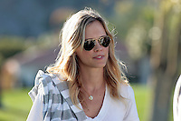 24 January 2009: Actress Errin Bartlett, wife of Celebrity player Oliver Hudson at Palmer Private at PGA West in La Quinta, California during the fourth round of play at the 50th Bob Hope Classic, PGA golf tournament.