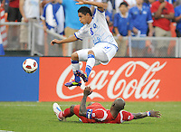 El Salvador Osael Romero (8)   Panama defeated El Salvador in penalty kicks 5-3 in the quaterfinals for the 2011 CONCACAF Gold Cup , at RFK Stadium, Sunday June 19, 2011.
