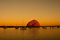 Morro Rock at Dawn, Morro Bay, California