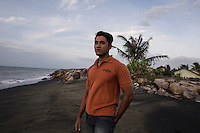"""Indonesia – Sumatra – Banda Aceh - Muammad Mirza a 23-year-old student still remembers the day when his father and 8-year-old brother were taken away by the water in front of his eyes. """"I tend to focus on the future and I am busy programming my life"""" he says. """"I am now studying economic management and would like to set up my own cargo business"""". Although the family has stopped looking for the bodies, memories still scar them. """"It's true, I don't think much about the tsunami. But I do think a lot about my father"""" Mirza says, tellingly."""