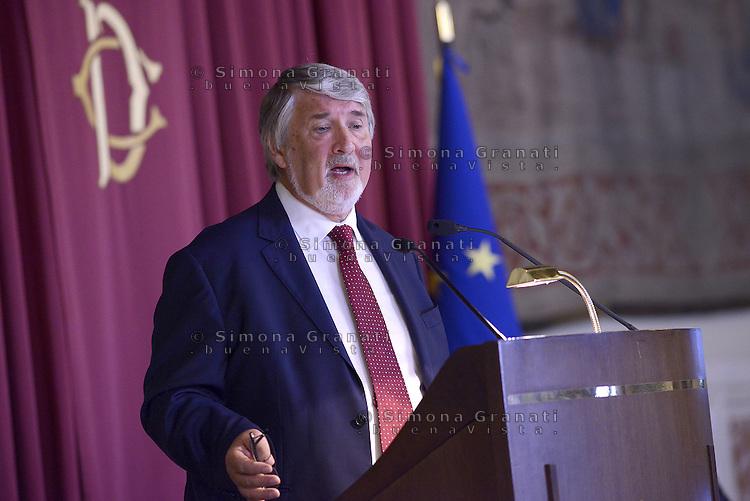 Roma, 8 Luglio 2015.<br /> Giuliano Poletti.<br /> Camera dei Deputati. <br /> Relazione annuale INPS.