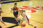 "Ole Miss' Gracie Frizzell (12) vs. Belmont's Jordyn Luffman (13) at the C.M. ""Tad"" Smith Coliseum in Oxford, Miss. on Sunday, December 16, 2012. Ole Miss won 63-48."