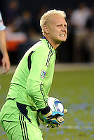 Jimmy Nielsen Sporting KC...Sporting KC were held to a scoreless tie with Chicago Fire in the inauguarl game at LIVESTRONG Sporting Park, Kansas City, Kansas.