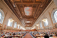 Rose reading room, New York Public Library, NYC, NY architect, Carrere &amp; Hastings