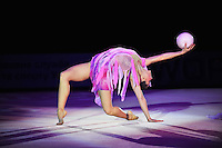 "SILVIYA MITEVA of Bulgaria performs gala at 2011 World Cup Kiev, ""Deriugina Cup"" in Kiev, Ukraine on May 8, 2011."