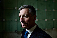 Portraits of Don Sadoway for MIT News
