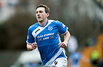 St Johnstone v Dundee&hellip;11.03.17     SPFL    McDiarmid Park<br />Blair Alston celebrates his goal<br />Picture by Graeme Hart.<br />Copyright Perthshire Picture Agency<br />Tel: 01738 623350  Mobile: 07990 594431