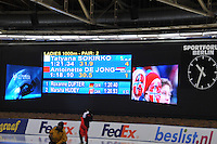SCHAATSEN: BERLIJN: Sportforum, 08-12-2013, Essent ISU World Cup, 1000m Ladies Division B, result, Antoinette de Jong (NED), ©foto Martin de Jong