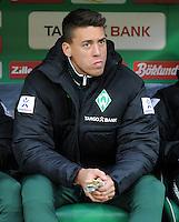 FUSSBALL   1. BUNDESLIGA   SAISON 2011/2012    14. SPIELTAG SV Werder Bremen - VfB Stuttgart       27.11.2011 Sandro WAGNER (Werder Bremen) auf der Ersatzbank
