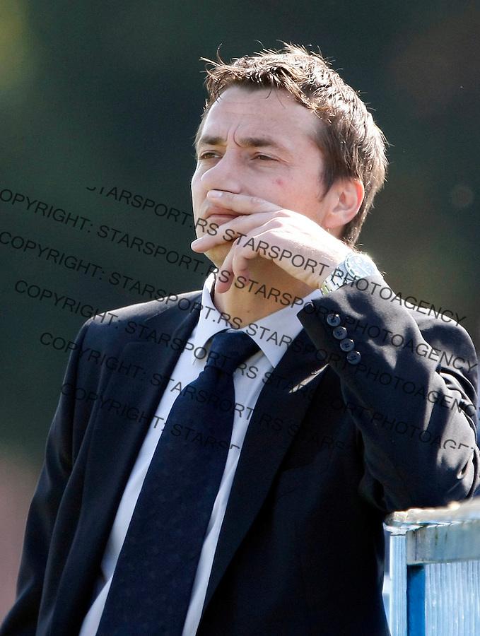 Fudbal, Meridijan super liga, sezona 2007/08.Borac (Cacak) Vs. Partizan.head coach Slavisa Jokanovic.Cacak, 03.30.2008..foto: Srdjan Stevanovic
