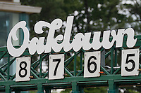 Oaklawn Park gate on the derby day. (Justin Manning/Eclipse Sportswire)