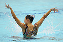 Yumi Adachi (JPN), JULY 9, 2011 - Synchronized Swimming : Yumi Adachi of Japan perform during the solo technical routine Exhibition at Tatsumi International pool in Tokyo, Japan. (Photo by Yusuke Nakanishi/AFLO SPORT) [1090]