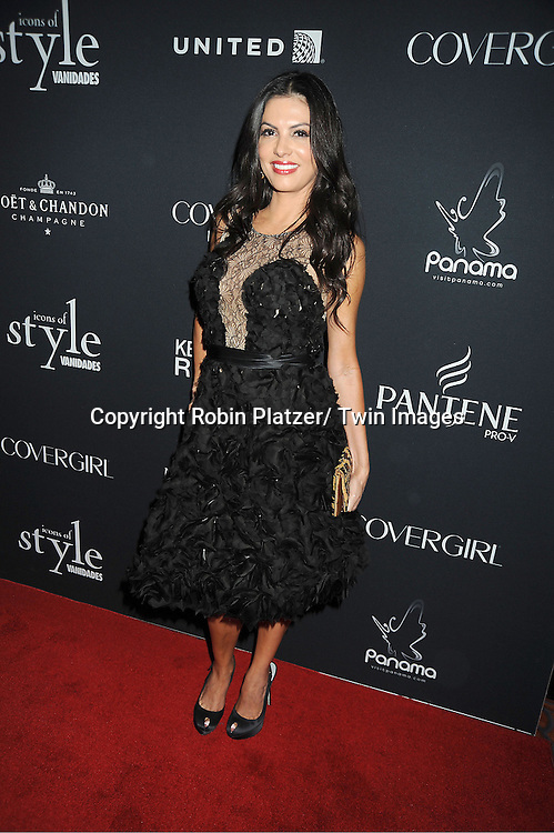 Adriana de Moura of The Real Housewives of Miami attends the Vanidades Magazine  Icons of Style Gala on September 27, 2012 at the Mandarin Oriental Hotel in New York City.