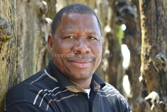 Diarra Ousmane, writer from Mali in 2015.
