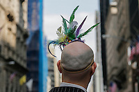 A man takes part during the annual easter parade in Manhattan, New York, 03.27.2016. This annual tradition has been taking place in New York City for over 100 years, Photo by VIEWpress.