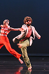 The Sho dancers Michael Rioux and Natascha Greenwalt Murphy rehearsing Wild Fruit Study 01 for Chop Shop 2010.