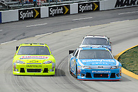 30 March - 1 April, 2012, Martinsville, Virginia USA.Paul Menard, Aric Almirola.(c)2012, Scott LePage.LAT Photo USA