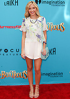UNIVERSAL CITY, CA, USA - SEPTEMBER 21: Audrey Whitby arrives at the Los Angeles Premiere Of Focus Features' 'The Boxtrolls' held at Universal CityWalk on September 21, 2014 in Universal City, California, United States. (Photo by Celebrity Monitor)
