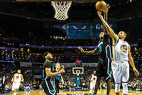 Sports action photography -  National Basketball Association's Charlotte Hornets in action at the Time Warner Cable Arena in Uptown/ Downtown Charlotte, North Carolina.<br /> <br /> Charlotte Photographer - PatrickSchneiderPhoto.com