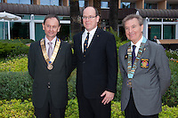 H.R.H. Prince Albert of Monaco - Rotary Club