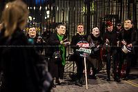 """Budget Day Pots & Pans Protest"""