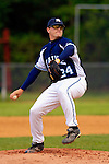 18 May 2006: Scott Robinson,  a University of Maine Senior from Ajax, Ontario, on the mound against the University of Vermont Catamounts, at Historic Centennial Field, in Burlington, Vermont...Mandatory Photo Credit: Ed Wolfstein Photo..