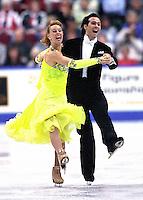 Barbara Fusar Poli and Maurizio Margaglio Italy. Photo copyright Scott Grant.