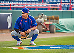 3 March 2016: New York Mets shortstop Ruben Tejada awaits warmups prior to a Spring Training pre-season game against the Washington Nationals at Space Coast Stadium in Viera, Florida. Mandatory Credit: Ed Wolfstein Photo *** RAW (NEF) Image File Available ***