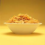 bowl of cornflake cereal