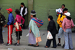 South America, Bolivia, La Paz. People of La Paz.