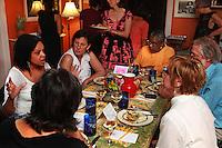 (110525RREI0994) Judy Byron's Perfect Girls conversation dinner, Washington DC . May 25, 2011 © Rick Reinhard 2011