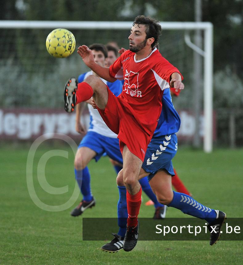KSV De Ruiter : Tom Claerbout<br /> foto VDB / Bart Vandenbroucke
